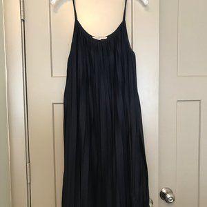 Loft Pleated Swing Dress